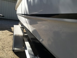 Twin Vee 23 After Buffing